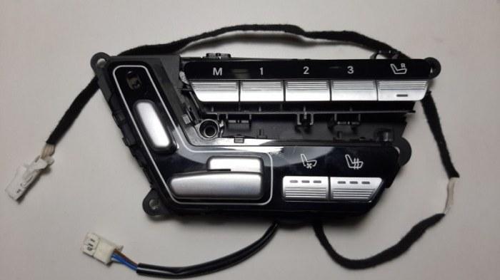Блок управления сидением Mercedes-Benz S-Class W221 M273.961 2008 передний левый