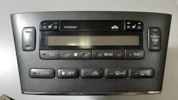 Блок управления климат-контролем Lexus Es300 MCV30 1MZFE 2002