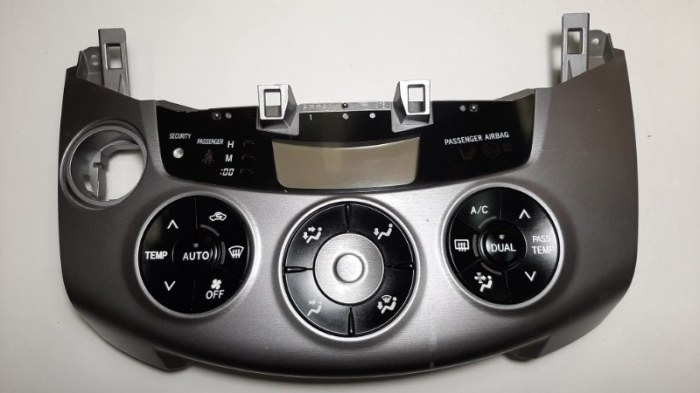 Блок управления климат-контролем Toyota Rav4 ACA31 2AZ-FE 2007