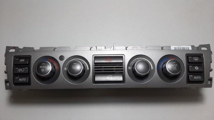 Блок управления климат-контролем Bmw 7-Series E66 N62B40A 2006