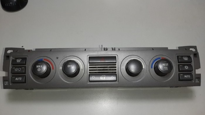 Блок управления климат-контролем Bmw 7-Series E65 N62B44A 2006