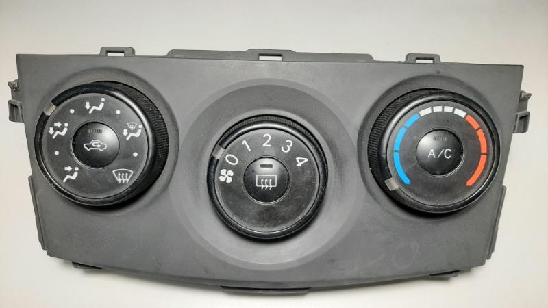 Блок управления климат-контролем Toyota Corolla E150 1NR-FE 2013 передний верхний