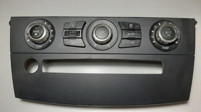 Блок управления климат-контролем Bmw 5-Series E60 N52B25A 2006
