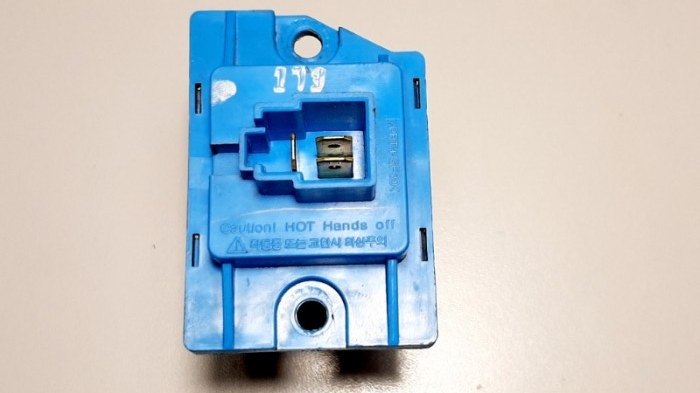 Резистор Hyundai Santa Fe CM G4KE, 2.4L 2010