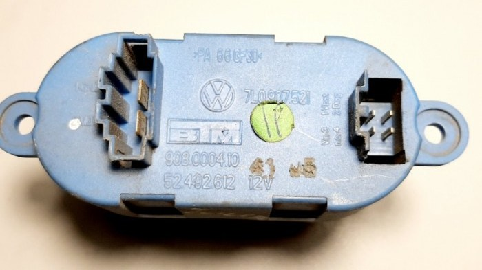 Резистор Volkswagen Touareg 7LA AXQ 2005