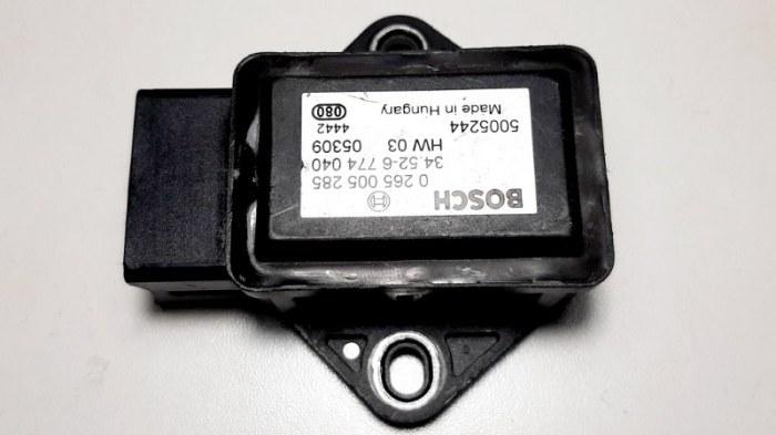 Датчик ускорения Bmw 7-Series E66 N62B40A 2006