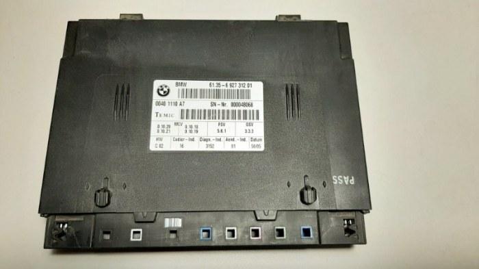 Блок управления сидением Bmw 7-Series E65 N62B44A 2003 передний левый