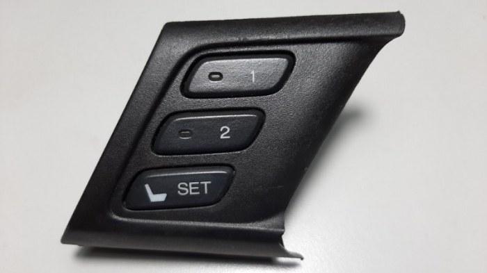 Блок кнопок Honda Accord CU2 K24Z3 2009 передний левый