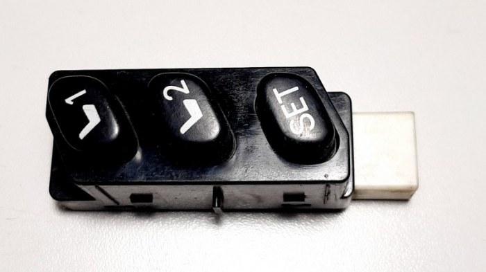 Блок кнопок Lexus Es300 MCV30 1MZ-FE 2002