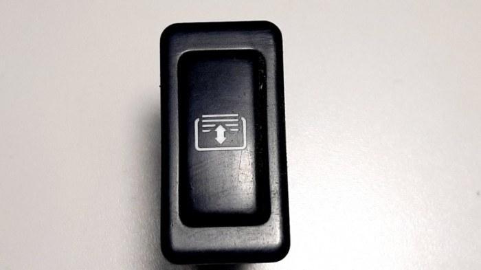 Кнопка, переключатель Lexus Es300 MCV30 1MZ-FE 2002
