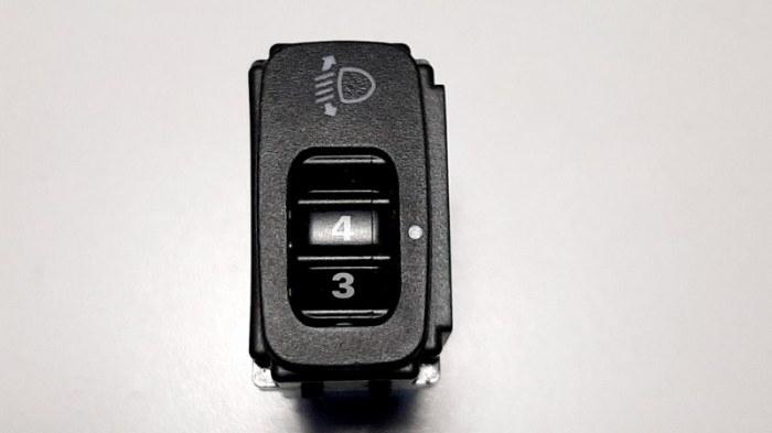 Кнопка регулировки фар Toyota Corolla E120 3ZZ-FE 2003