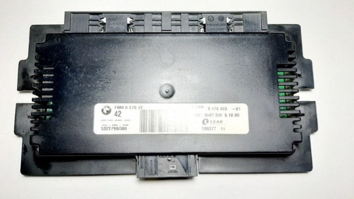 Блок управления светом Bmw X5 E70 M57TU2D30 2008
