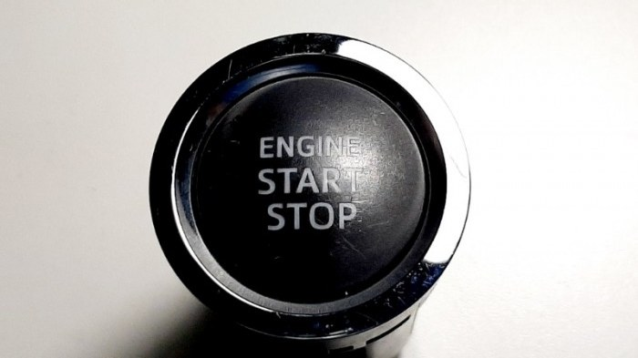 Кнопка старт-стоп Toyota Camry ASV50 2AR-FE 2013