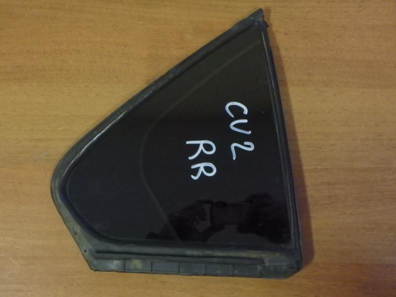 Форточка двери Honda Accord CU2 K24A3 2012 задняя правая