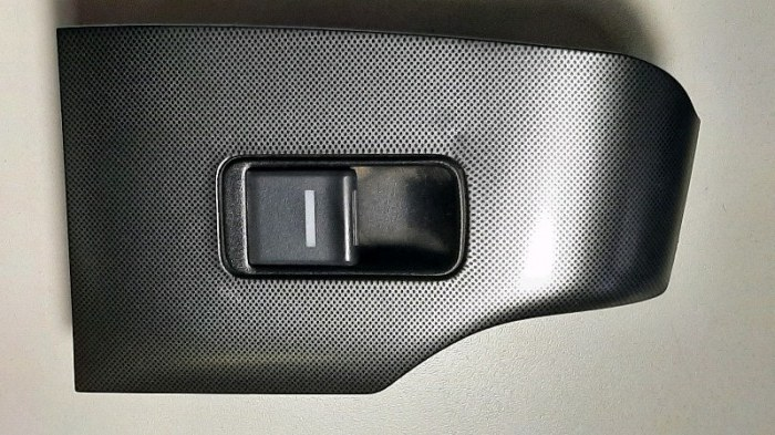 Кнопка стеклоподъемника Honda Accord CL9 K24A3 2006 задняя левая