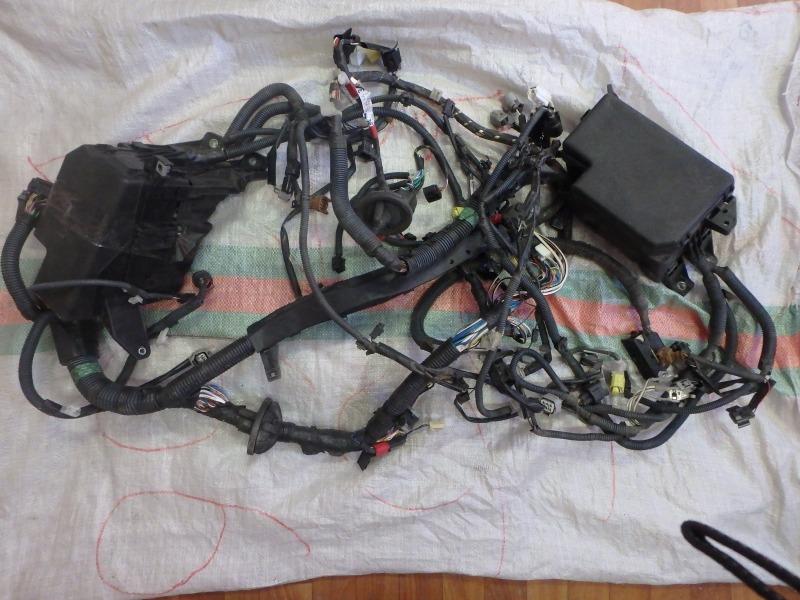Электропроводка Toyota Rav4 ACA30 1AZ-FE 2007