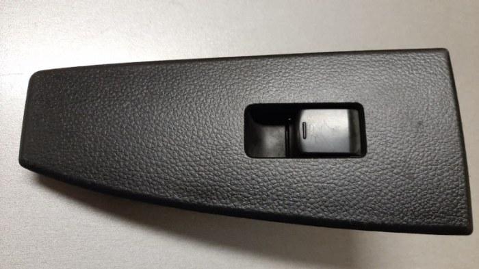 Кнопка стеклоподъемника Infiniti Fx45 S50 VK45DE 2006 задняя левая