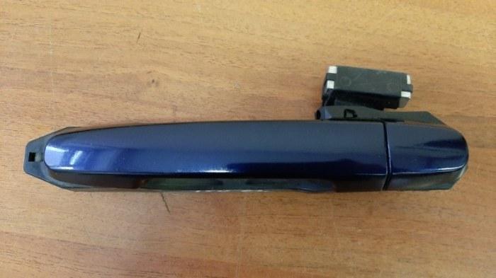 Ручка двери внешняя Toyota Corolla E150 1ZR-FE 2012 задняя левая