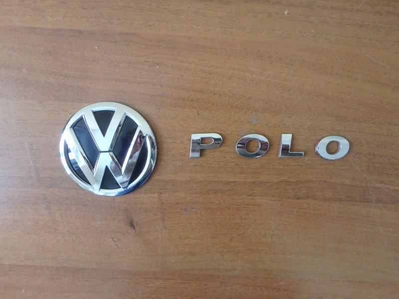 Эмблема Volkswagen Polo 6C1 CBZA 2011