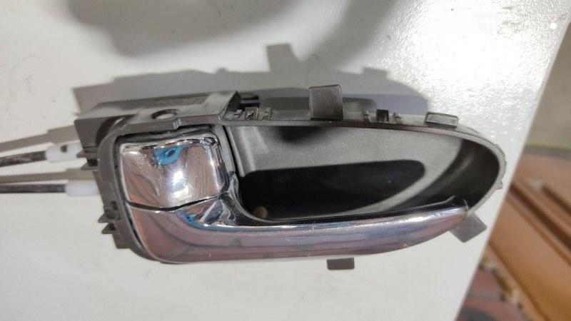 Ручка двери внутренняя Nissan Bluebird Sylphy KG11 MR20DE задняя левая