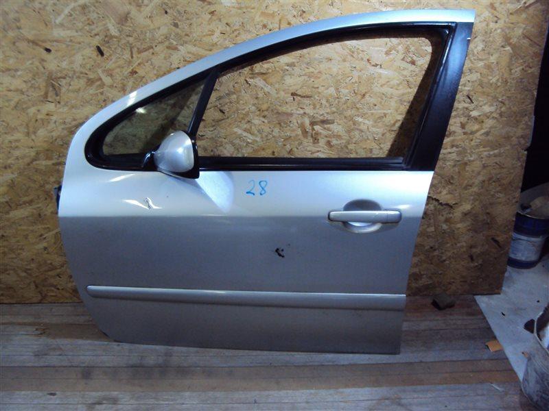Дверь Peugeot 307 T5NFU TU5JP4 2008 передняя левая