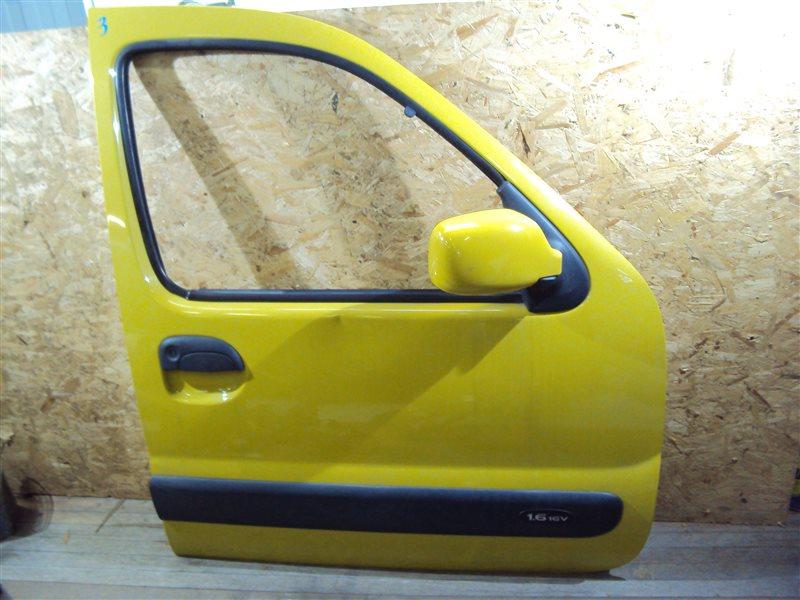 Дверь Renault Kangoo KC0A / KC0K / KC0F / KC01 K4MB 2003 передняя правая