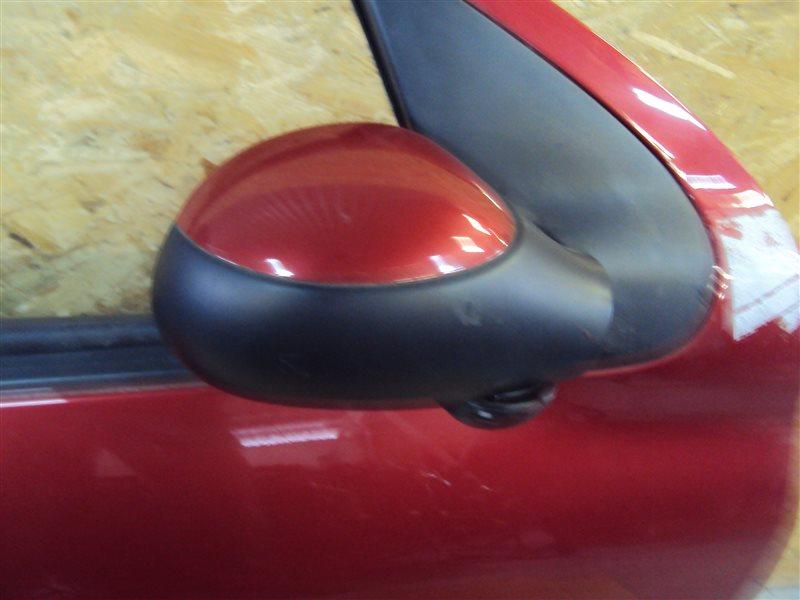 Зеркало Peugeot 206 2EKNFU NFU10FX7PPSA 2005 переднее правое