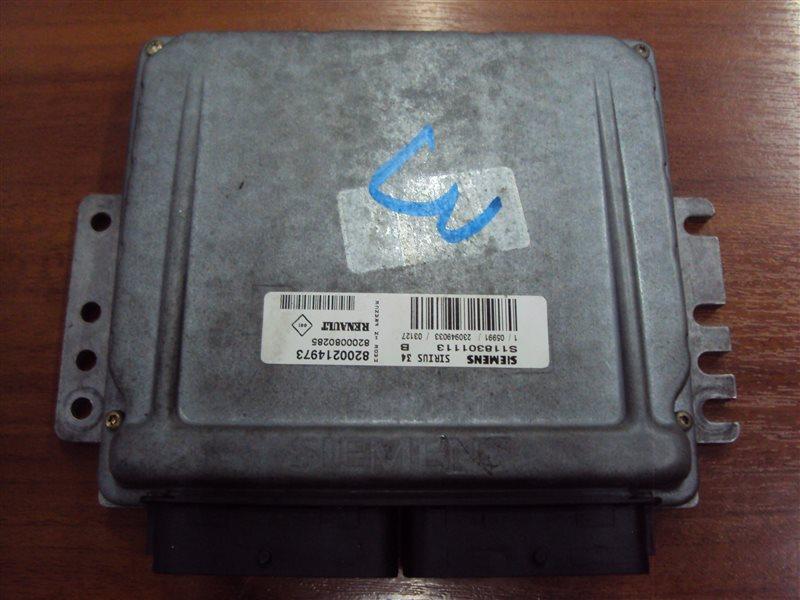 Блок управления двигателем Renault Kangoo KC0A / KC0K / KC0F / KC01 K4MB 2003