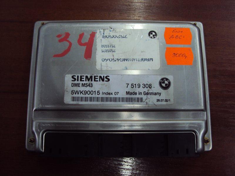 Блок управления двигателем Bmw 3-Series E46 226S1 M54 2002