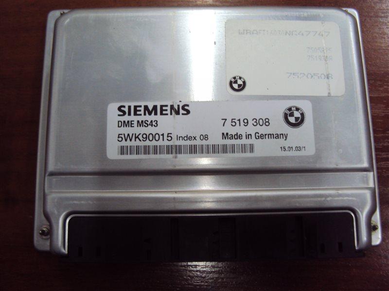 Блок управления двигателем Bmw 3-Series E46 2002