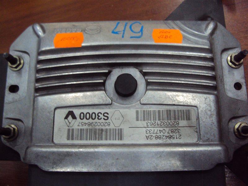 Блок управления двигателем Renault Megan BM F4R 1771 2006