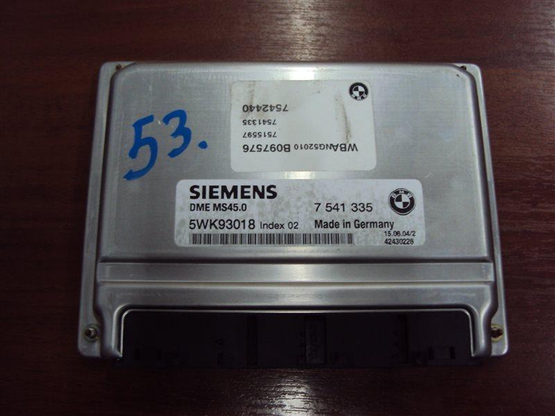 Блок управления двигателем Bmw 5-Series E61 256S5 2004