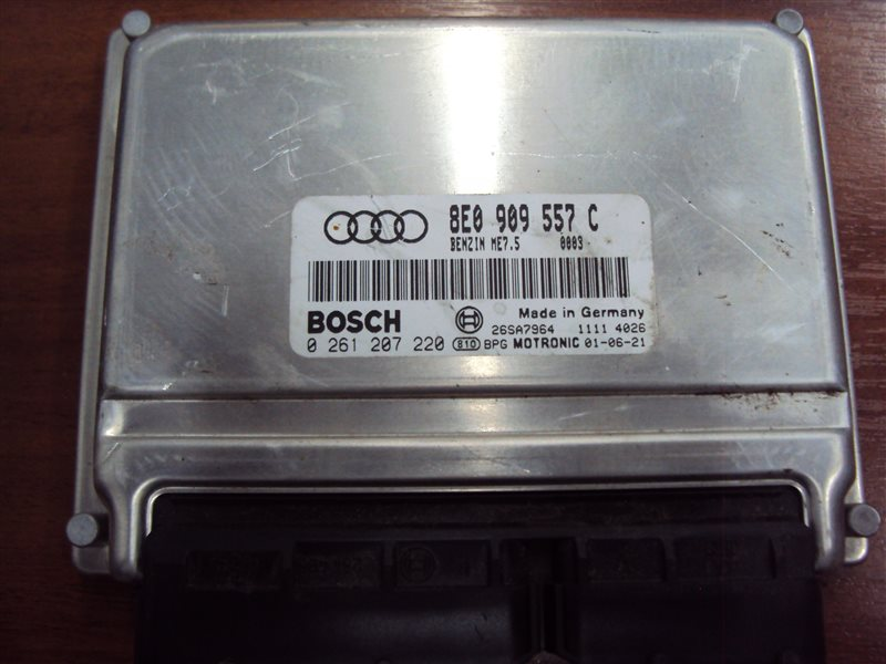 Блок управления двигателем Audi A4 B6 ALT 2001