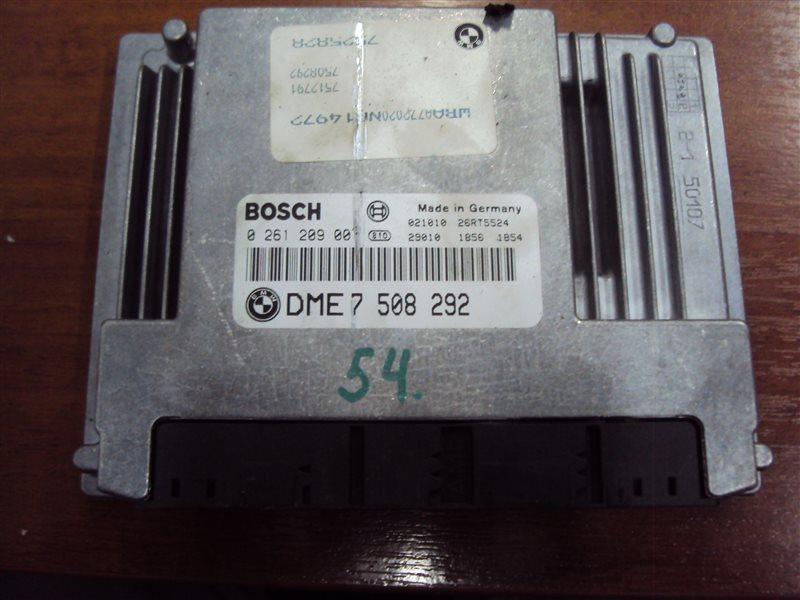 Блок управления двигателем Bmw 3-Series E46 N42B20AB 2003
