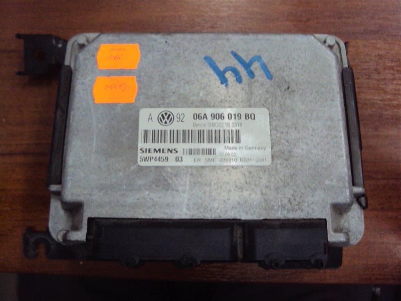 Блок управления двигателем Volkswagen Golf 4 1JAEH AEH 2001