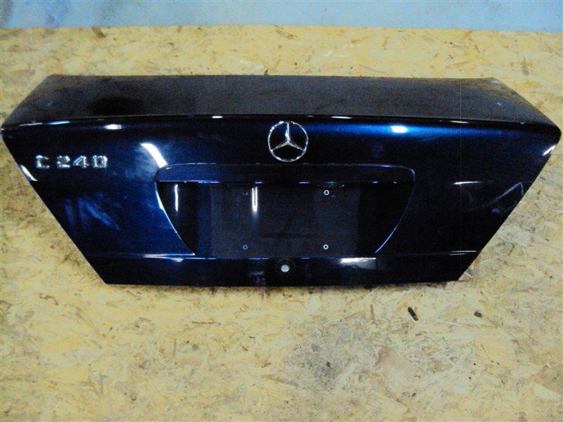 Крышка багажника Mercedes-Benz C W202 112.910 1998 задняя