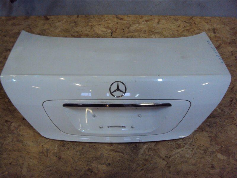 Крышка багажника Mercedes-Benz S W220 113.960 1999 задняя