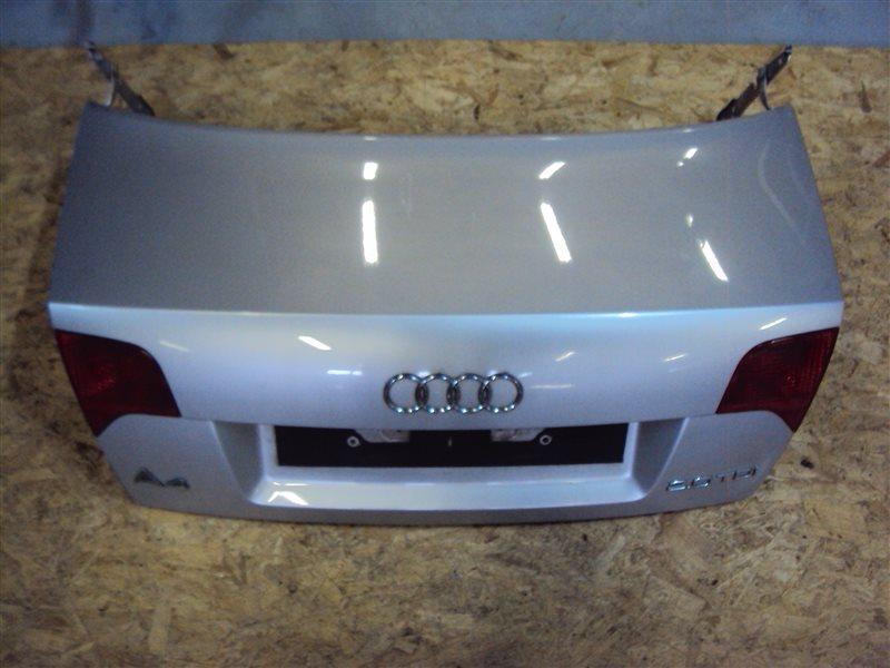 Крышка багажника Audi A4 B7 BPW 2006 задняя