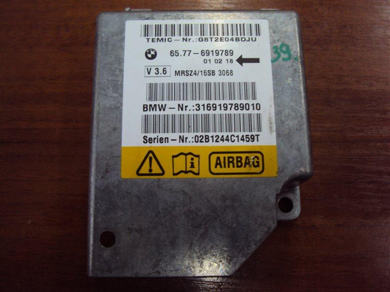 Блок управления аирбаг Bmw 5-Series E39 306S3 M54 2002