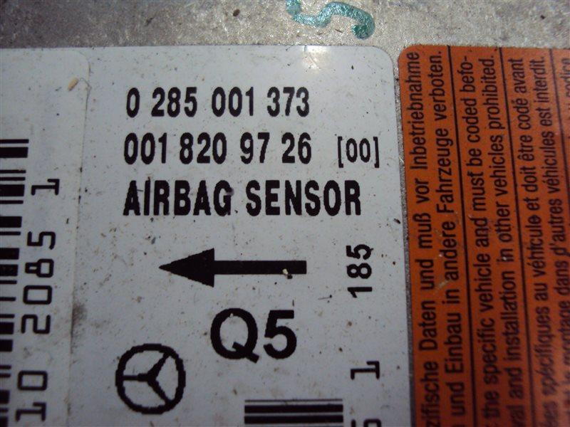 Блок управления аирбаг Mercedes-Benz C W203 112.912 2001
