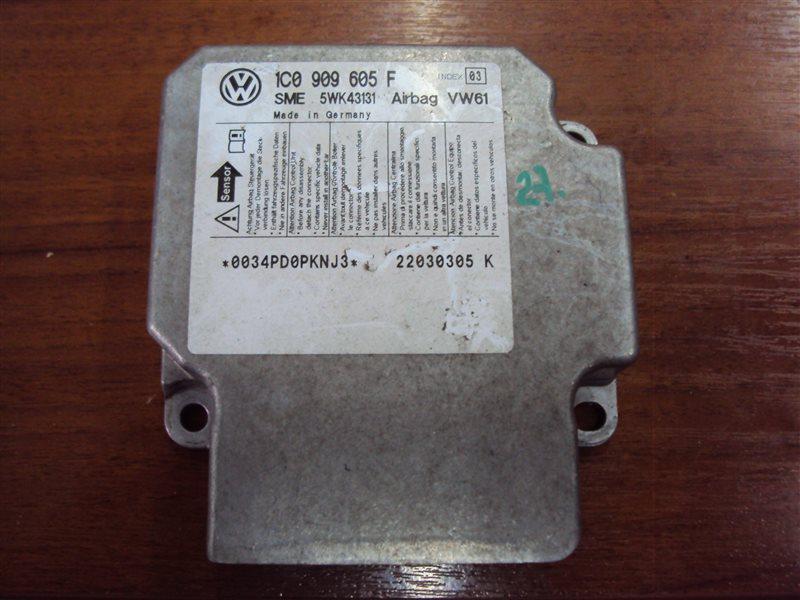 Блок управления аирбаг Volkswagen Golf 4 1JAPK AZJ 2003