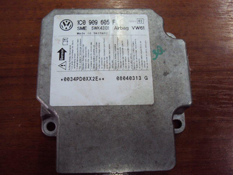 Блок управления аирбаг Volkswagen Golf 4 1JAZJ BFQ 2004