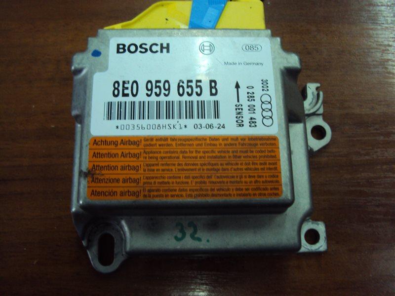Блок управления аирбаг Audi A4 B6 AMB 2002