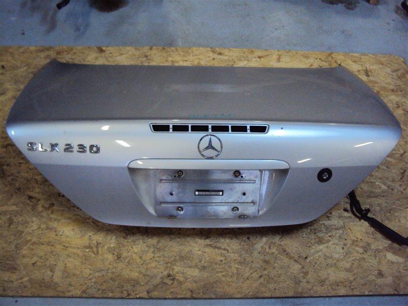 Крышка багажника Mercedes-Benz Slk R170 111.973 1999 задняя