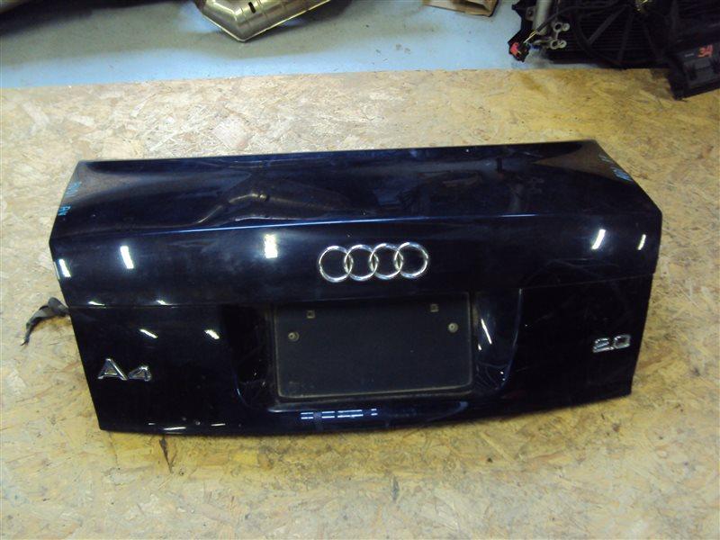 Крышка багажника Audi A4 B6 ALT задняя