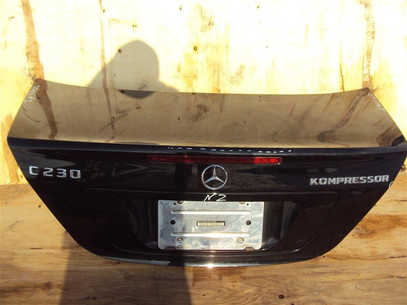 Крышка багажника Mercedes-Benz C W203 271.948 задняя
