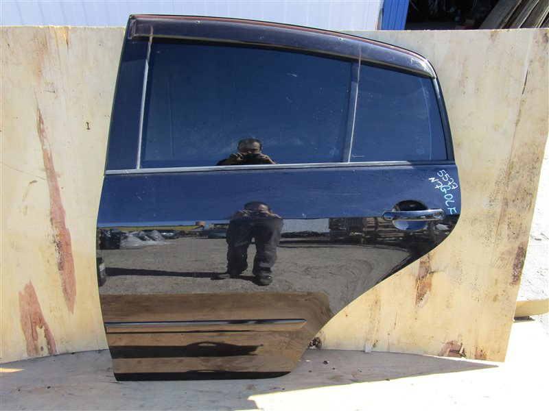 Дверь Volkswagen Golf Plus 1K BLR 2005 задняя левая
