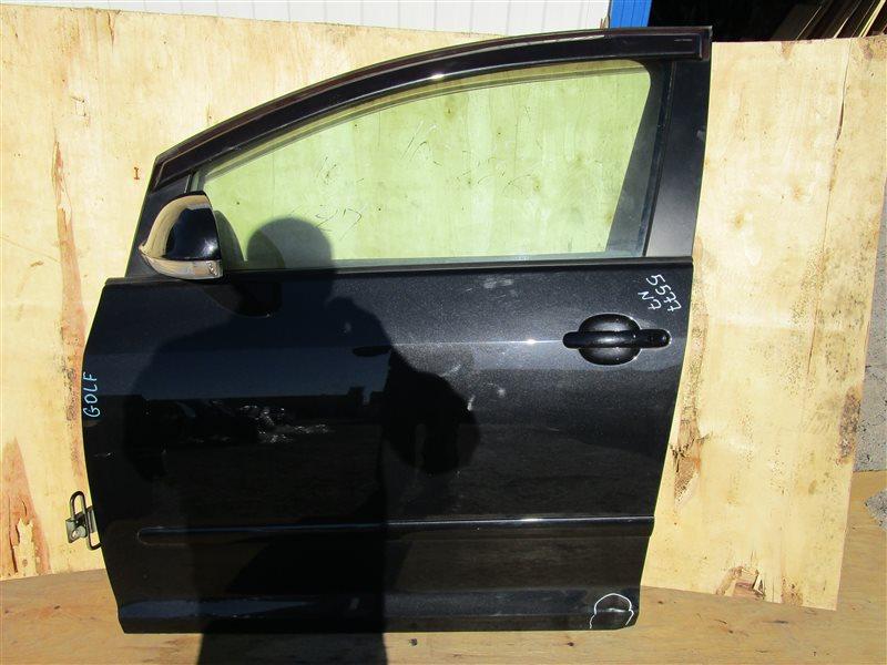 Дверь Volkswagen Golf Plus 1K BLR 2005 передняя левая