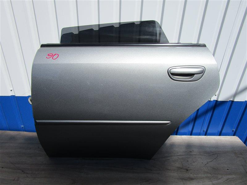 Дверь Subaru Legacy BP5 EJ20XHB задняя левая