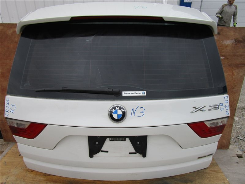 Крышка багажника Bmw X3 E83 N52B25A 2006 задняя